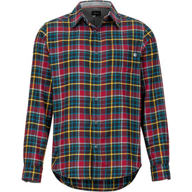 Marmot Fairfax Midweight Flannel LS Shirt Men, team red